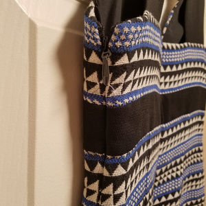 BCBGeneration Dresses - BCBGeneration Short bodycon dress black blue white